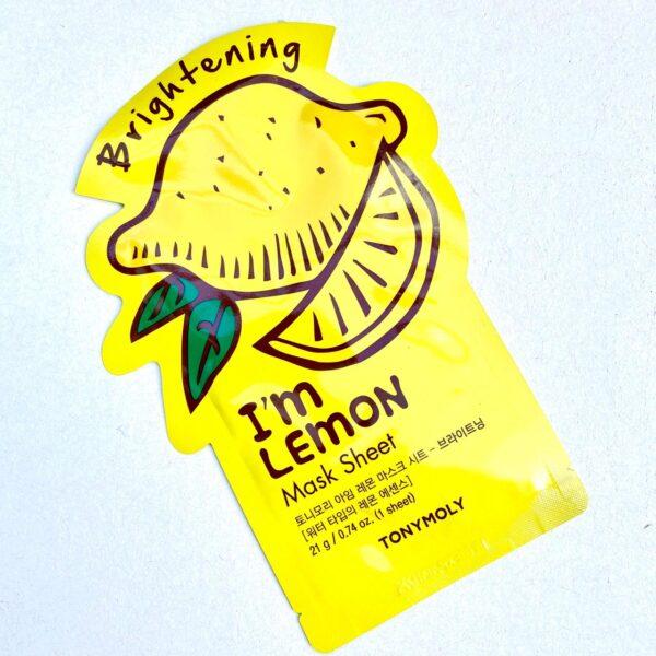 Mascarilla de limón tonymoly