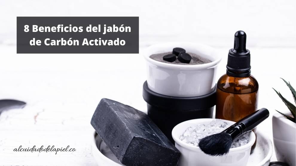 Beneficios del jabón de Carbon Activado