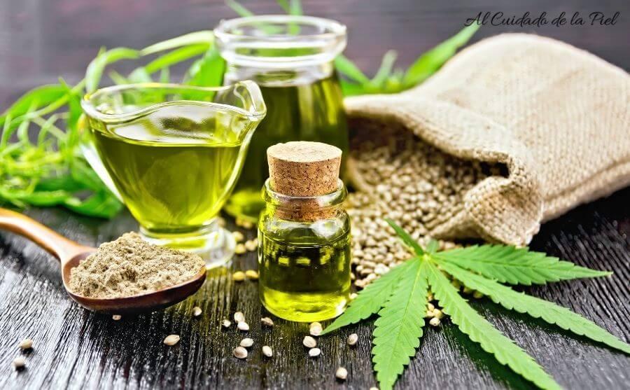 Aceite de Cannabis para el Cuidado de la Piel