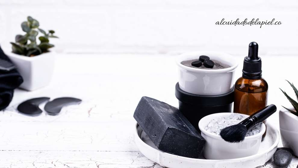 Tipos de jabones de carbón activado