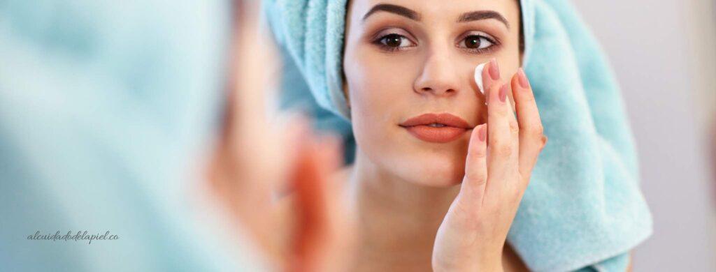 Agua activada para el cuidado de la piel