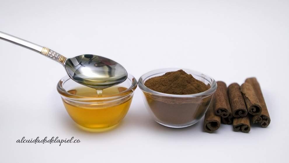 mascarilla de canela y miel para quitar el acné