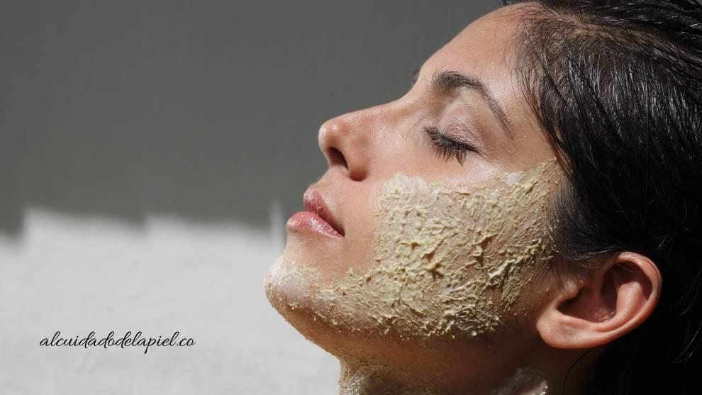 Exfoliantes naturales para la cara