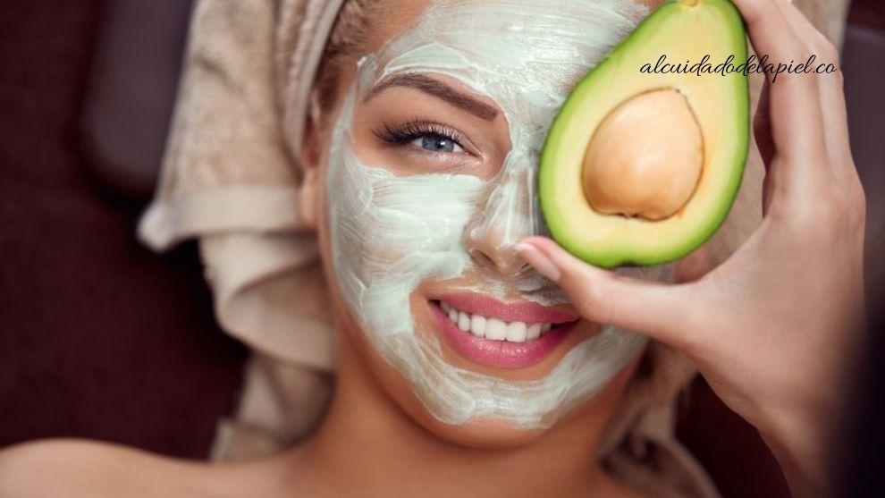 Mascarilla de aguacate para hidratar la piel