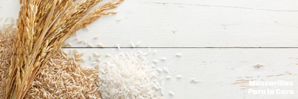Cómo preparar una mascarilla de arroz