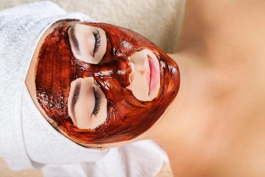 mascarilla tomate miel