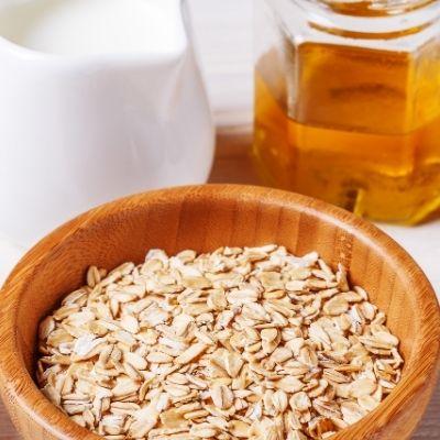 Mascarilla de Avena, miel y aceite de Almendras